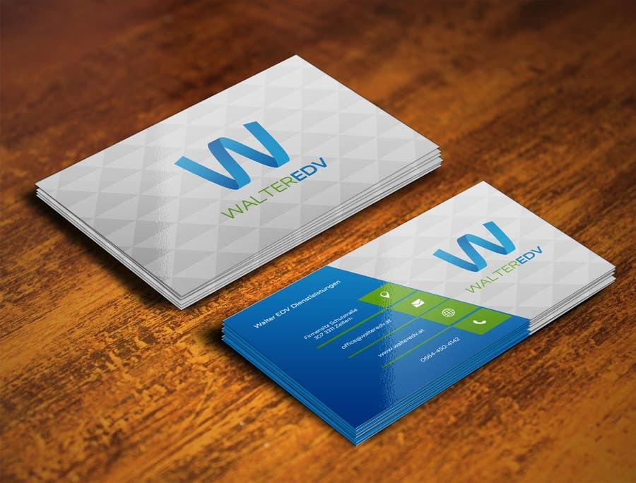 Konkurrenceindlæg #13 for Design eines Logos + Calling card for Walter EDV