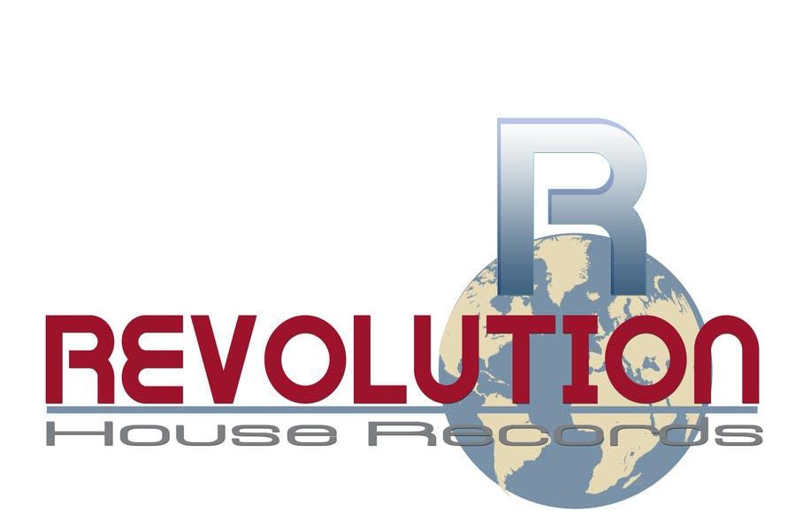 Contest Entry #                                        133                                      for                                         Design a Logo for Revolution House Records