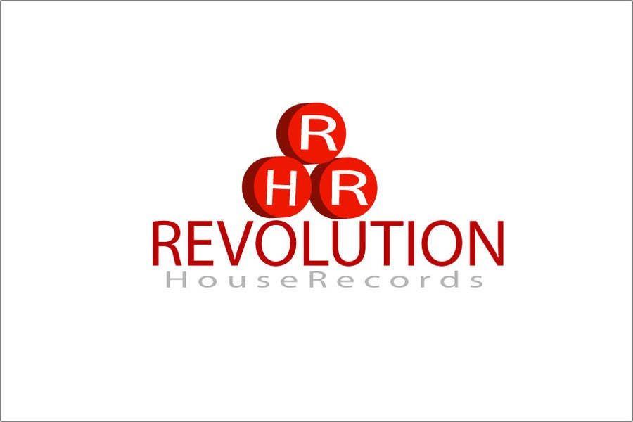 Contest Entry #                                        136                                      for                                         Design a Logo for Revolution House Records