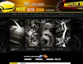 #17 para Graphic Design for Muffler Tech de Greenpty