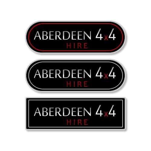 Konkurrenceindlæg #                                        26                                      for                                         Design a Logo for Aberdeen 4x4 Hire