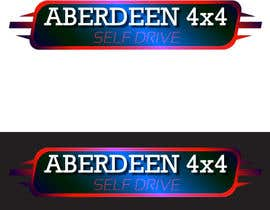 #3 for Design a Logo for Aberdeen 4x4 Hire by idburlacu