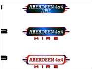 Graphic Design Konkurrenceindlæg #9 for Design a Logo for Aberdeen 4x4 Hire