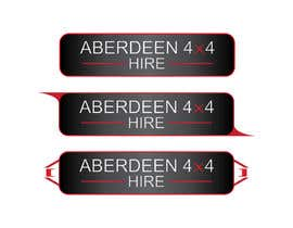 #19 for Design a Logo for Aberdeen 4x4 Hire af Dzery