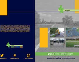 #8 for Design a frontpage for a brochure by dakimiki