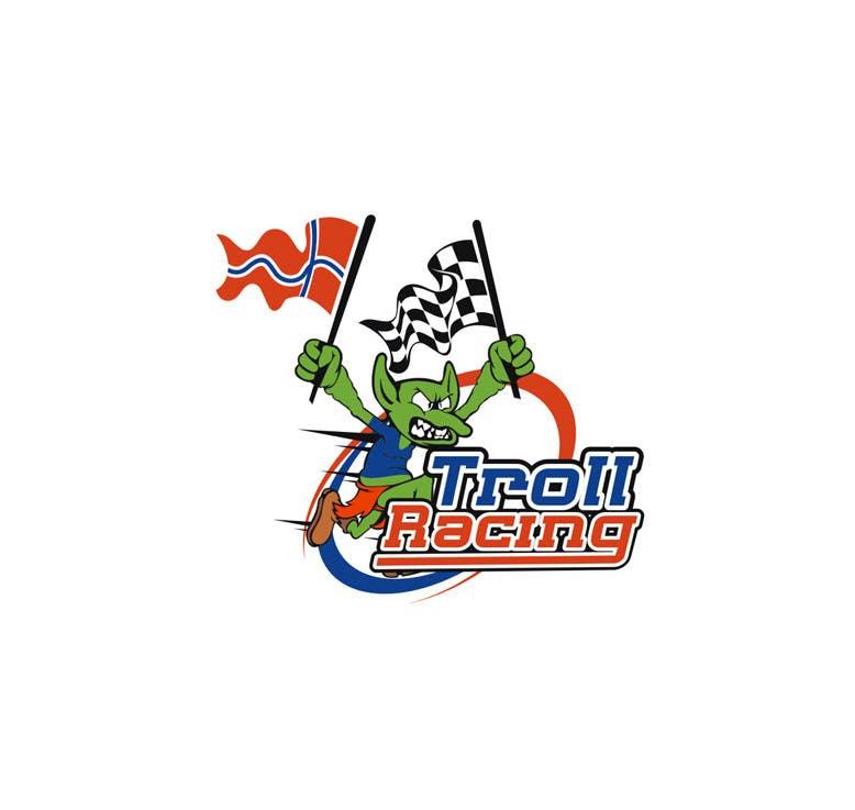 Bài tham dự cuộc thi #                                        107                                      cho                                         Troll Racing needs logo!