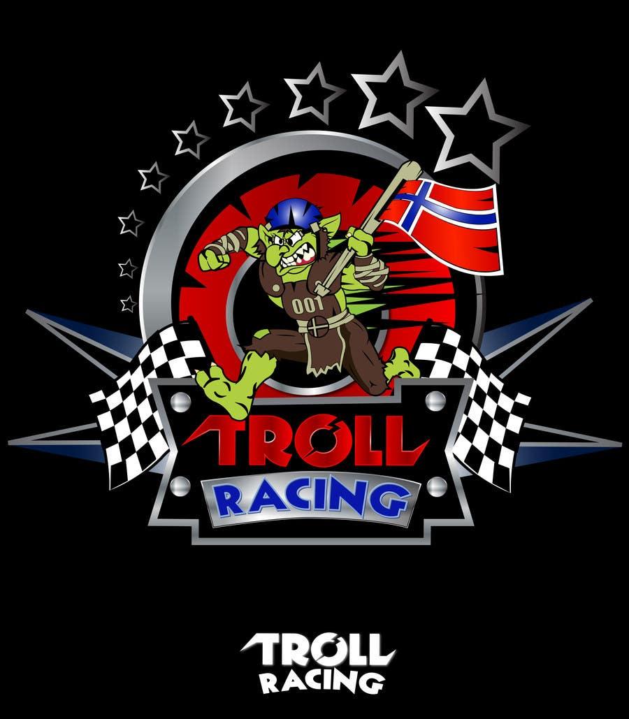 Bài tham dự cuộc thi #                                        170                                      cho                                         Troll Racing needs logo!