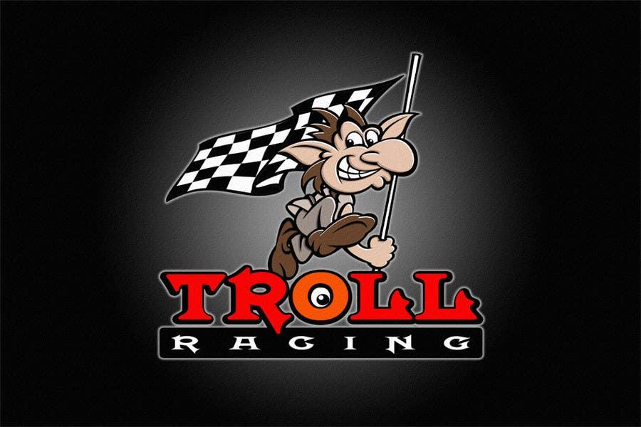 Bài tham dự cuộc thi #                                        123                                      cho                                         Troll Racing needs logo!