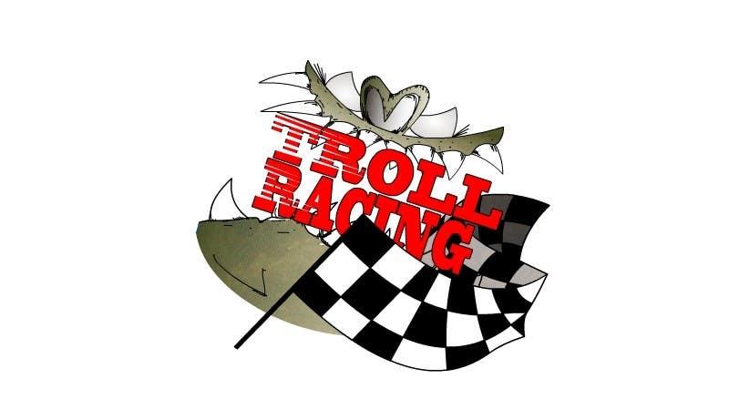 Bài tham dự cuộc thi #                                        23                                      cho                                         Troll Racing needs logo!