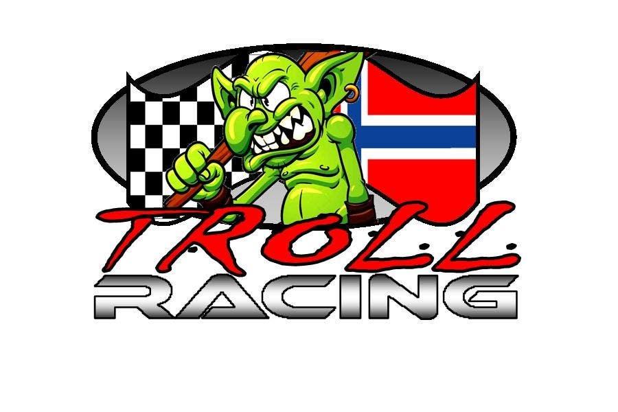Bài tham dự cuộc thi #                                        174                                      cho                                         Troll Racing needs logo!