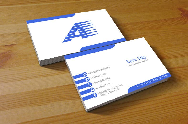 Konkurrenceindlæg #2 for Design some Business Cards for Albion Group of Companies