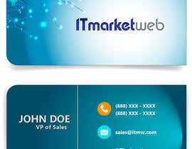 #63 for Design some Business Cards for IT Market by jakirsumon