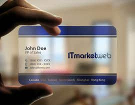 #126 untuk Design some Business Cards for IT Market oleh imtiazmahmud80