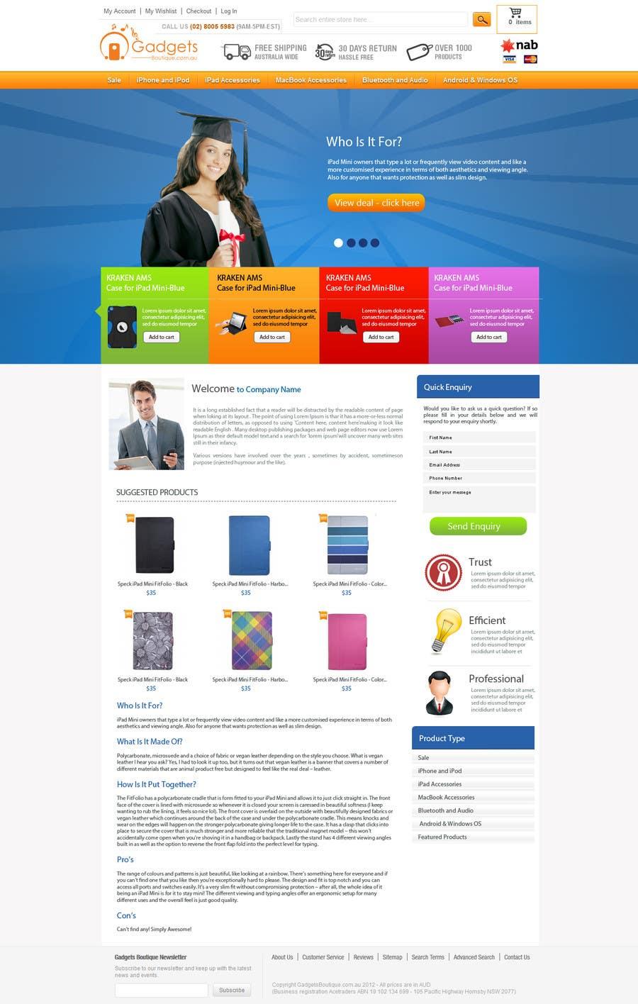 Inscrição nº                                         23                                      do Concurso para                                         Single page design for webpage