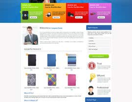 nº 23 pour Single page design for webpage par cromasolutions