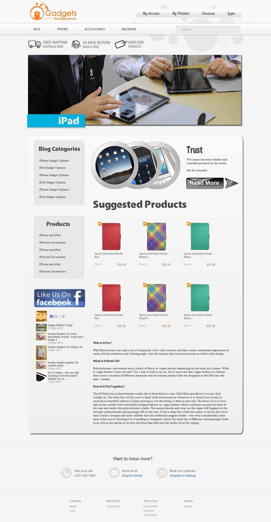 Inscrição nº                                         14                                      do Concurso para                                         Single page design for webpage