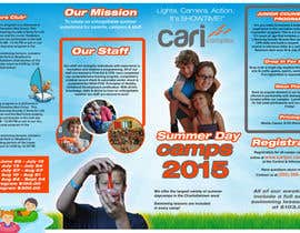 #20 untuk Design a Fun Daycamp brochure themed around 'SHOWTIME' oleh stylishwork