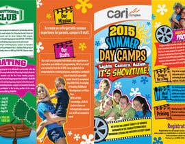 #30 untuk Design a Fun Daycamp brochure themed around 'SHOWTIME' oleh kyriene