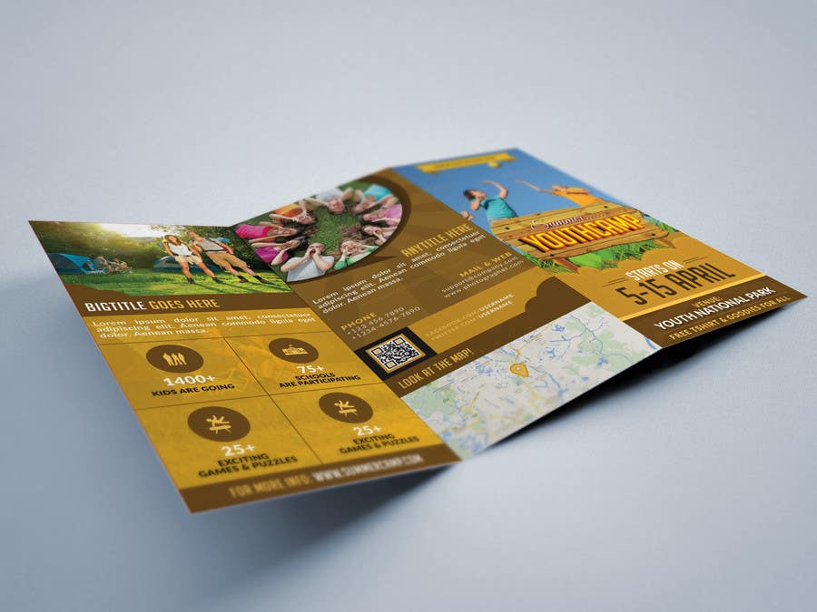 Contest Entry #                                        37                                      for                                         Design a Fun Daycamp brochure themed around 'SHOWTIME'