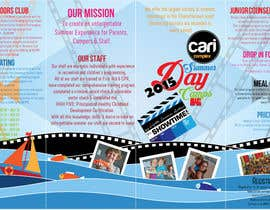#10 untuk Design a Fun Daycamp brochure themed around 'SHOWTIME' oleh AalianShaz