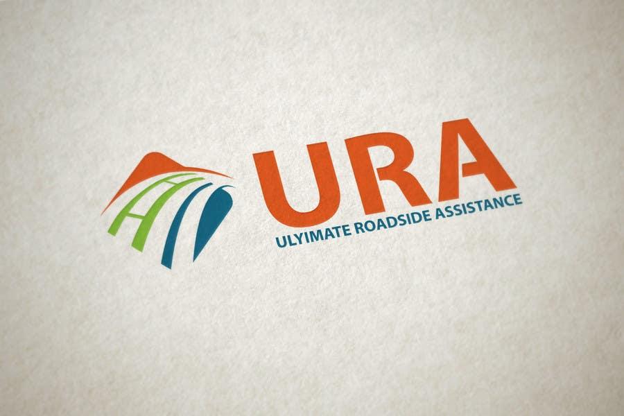 Kilpailutyö #96 kilpailussa Design a Logo for URA