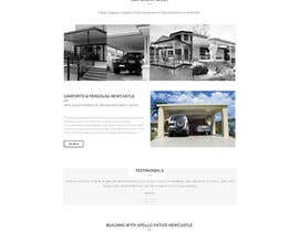 #3 for New Home Page Design - Wordpress Bridge Theme by doubledude