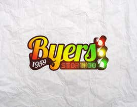 nº 116 pour Logo Design for Byers Stop N Go par valudia