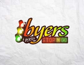 #69 para Logo Design for Byers Stop N Go de valudia