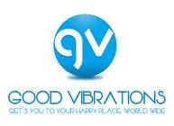 Graphic Design Konkurrenceindlæg #23 for Good Vibrations Travel Logo