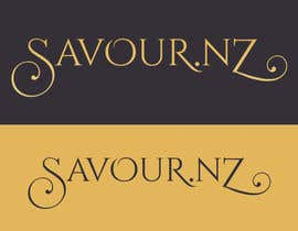 #13 para Logo and Banner for Savour.nz por vladspataroiu