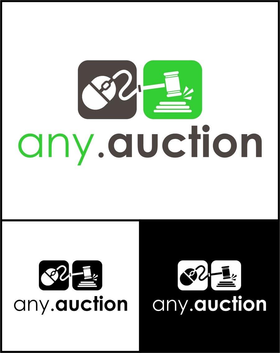 Proposition n°                                        58                                      du concours                                         Design a logo for an online auction website