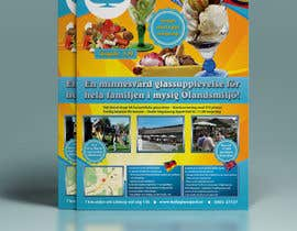 #3 for Design a flyer for ice cream restaurant. by gkhaus
