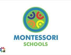 Nro 16 kilpailuun Design a Logo for Montessori Schools käyttäjältä sergiocossa