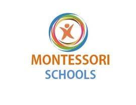 Nro 19 kilpailuun Design a Logo for Montessori Schools käyttäjältä svaishya1