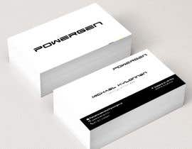 #38 untuk Design Business Card and some Stationery for PowerGen oleh agvik92