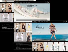 nº 3 pour Design the homepage of Fashion eCommerce store par gk1713