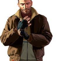 "#7 untuk Illustrate a provided character in ""Grand Theft Auto V""  poster style. oleh JDLA"