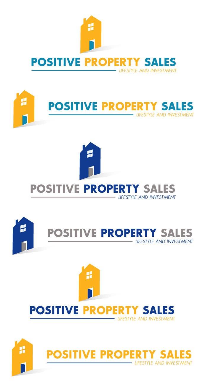 Konkurrenceindlæg #                                        64                                      for                                         Design a Logo for Positive Property Sales (positivepropertysales.com)