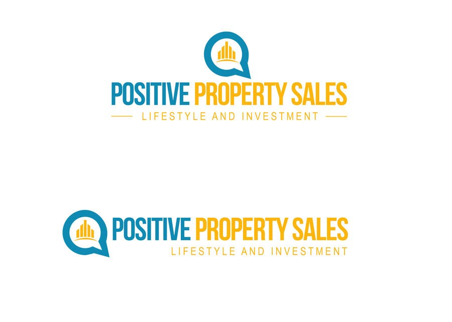 Proposition n°                                        43                                      du concours                                         Design a Logo for Positive Property Sales (positivepropertysales.com)
