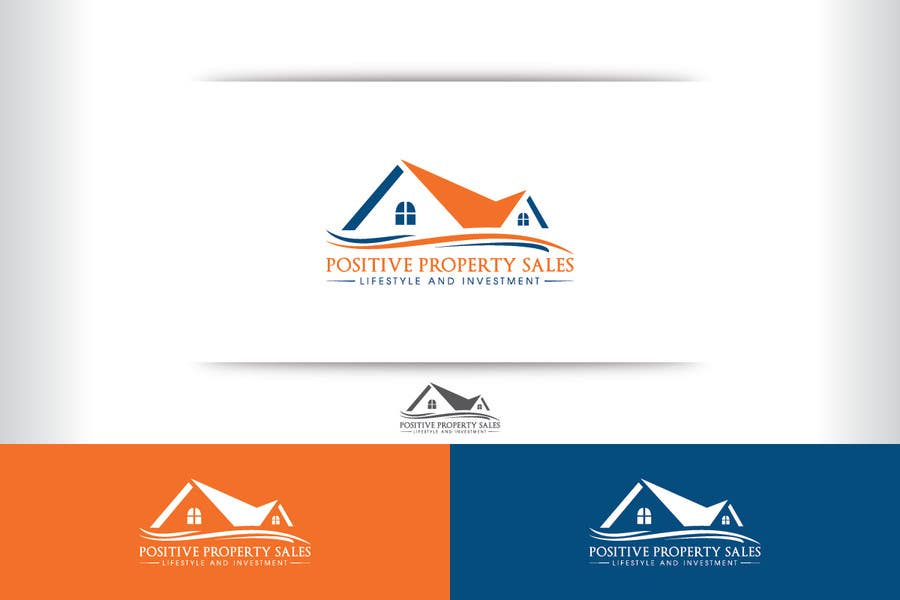 Konkurrenceindlæg #                                        44                                      for                                         Design a Logo for Positive Property Sales (positivepropertysales.com)