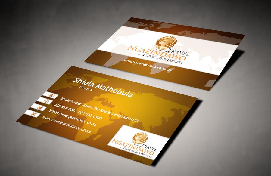Entry #10 by AlexTV for Design a letterhead and business cards for ...