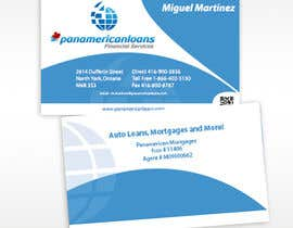 #30 untuk Design some Business Cards for Panamerican Loans oleh holecreative