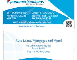 #50 for Design some Business Cards for Panamerican Loans by holecreative