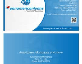 #16 untuk Design some Business Cards for Panamerican Loans oleh leadvisit