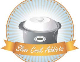 "#35 untuk Design a Logo for ""Slow Cook Addicts"" oleh Raveg"