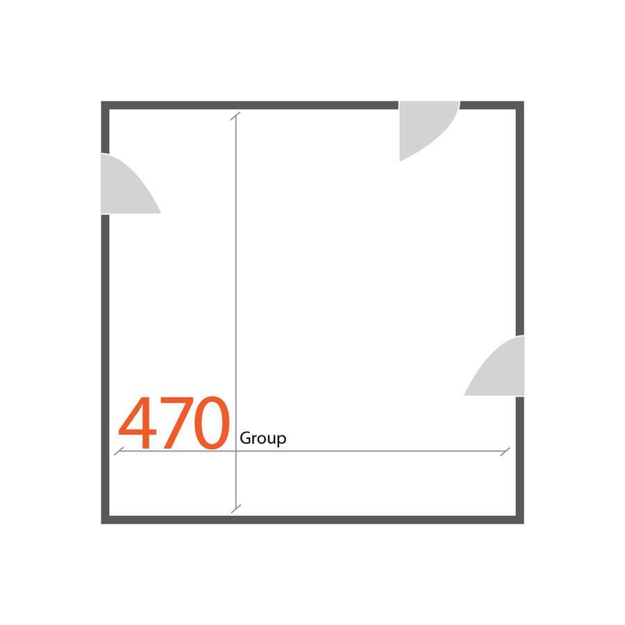 Kilpailutyö #32 kilpailussa Design a Logo for 470 group