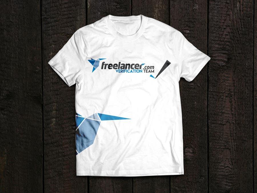 Contest Entry #                                        7                                      for                                         Design a T-Shirt for Freelancer.com's Verifications Team