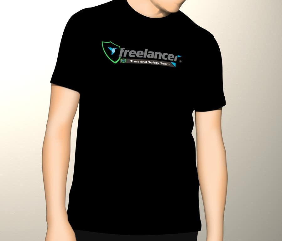 Konkurrenceindlæg #                                        31                                      for                                         Design a T-Shirt for Freelancer.com's Trust and Safety Team
