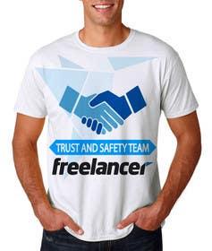Nro 51 kilpailuun Design a T-Shirt for Freelancer.com's Trust and Safety Team käyttäjältä ekanshnigam