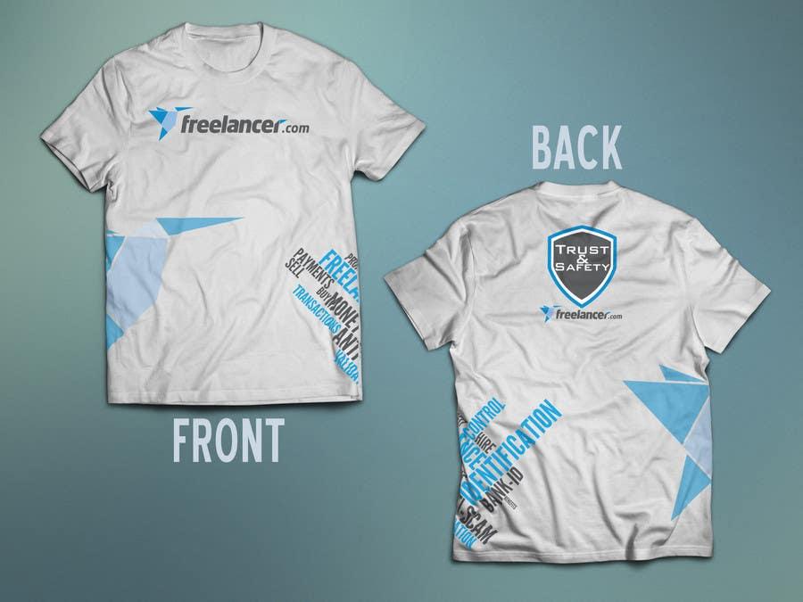 Konkurrenceindlæg #                                        62                                      for                                         Design a T-Shirt for Freelancer.com's Trust and Safety Team